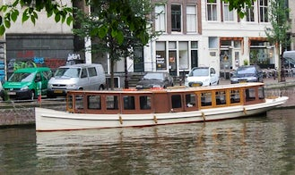 Canal Boat Rental in Amsterdam, North Holland