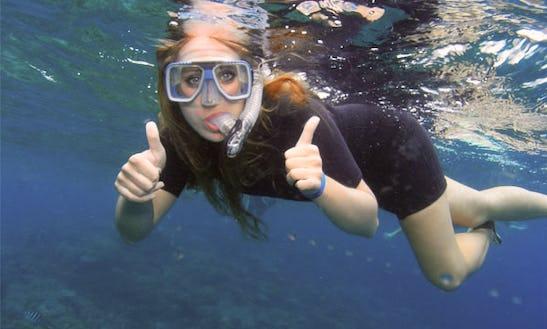 Snorkeling In Lanzarote, Spain