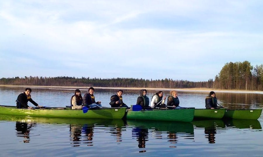Double Canoeing Trips in Varkaus