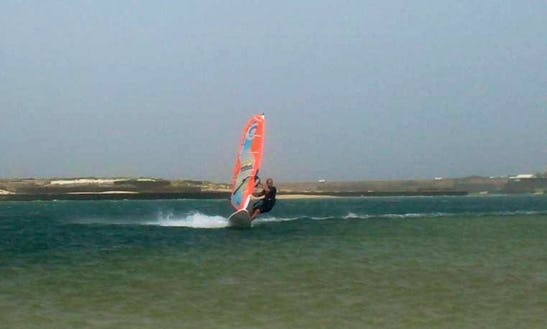 Windsurfing Lessons In Costa Teguise