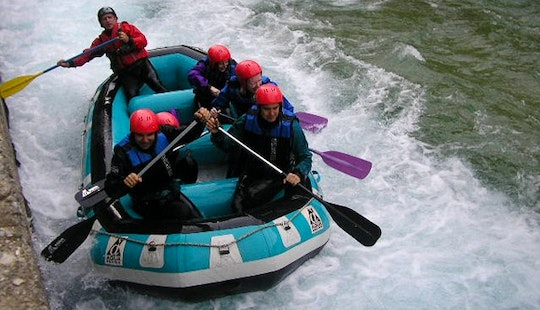 Daily Rafting Trips In Ioannina