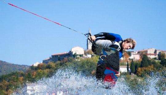 Water Skiing In Poreč
