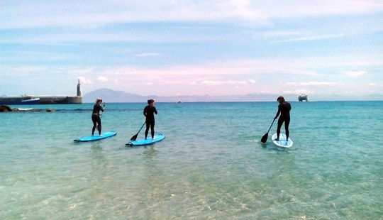 Stand Up Paddleboarding Lessons In Tarifa
