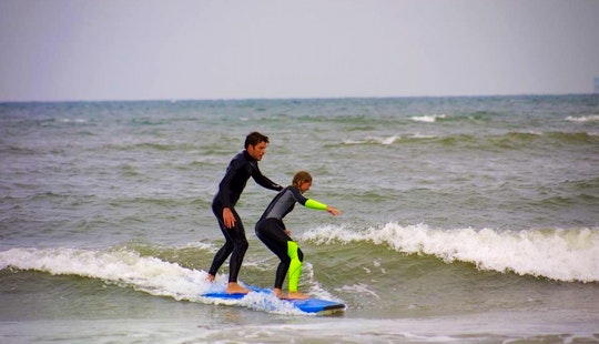 Surf Lessons And Hire In Den Haag