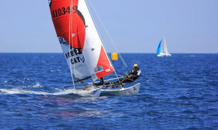Hobie Cat Sailing Lessons in Torroella de Montgrí