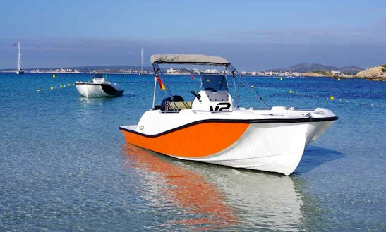 Deck Boat For Rent In Alcúdia