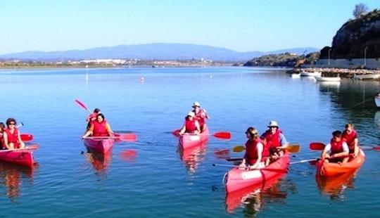 Canoeing Trips In Santorini