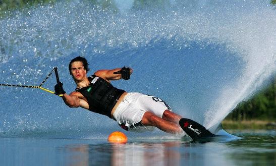 Water Skiing In Anatoliki Attiki