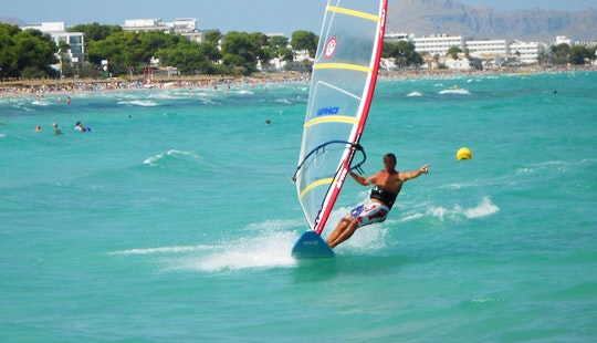 Windsurfing Lessons & Hire In Pollença