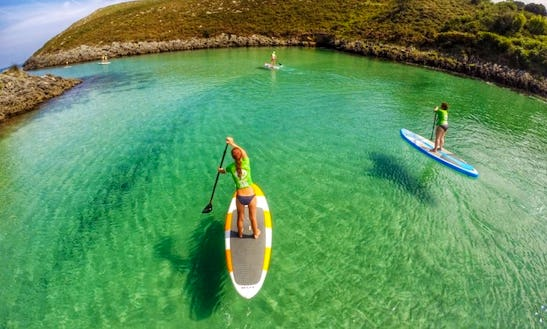Paddleboard Rental And Course In Llanes
