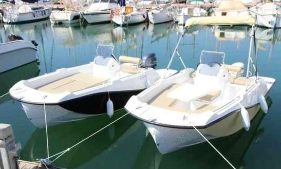 Deck Boat For Rent In Pollensa