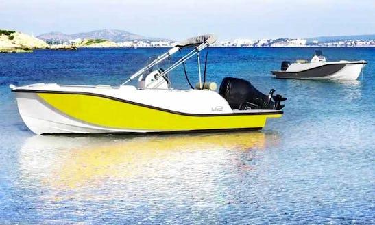 Deck Boat For Rent In La Savina