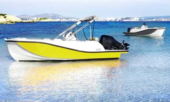 Deck Boat For Rent In La Savina