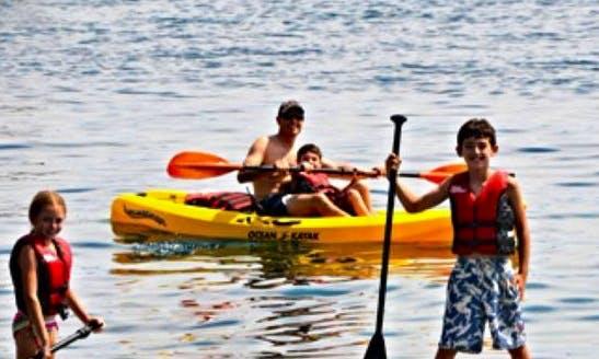 Single Kayak Rental in Dresden, New York