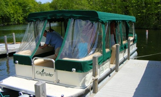 Pontoon Boat Charter In Holderness, New Hampshire