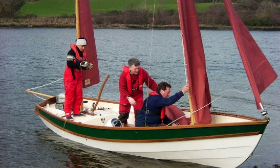 19' Drascombe Lugger Daysailer Rental In Cork, Ireland