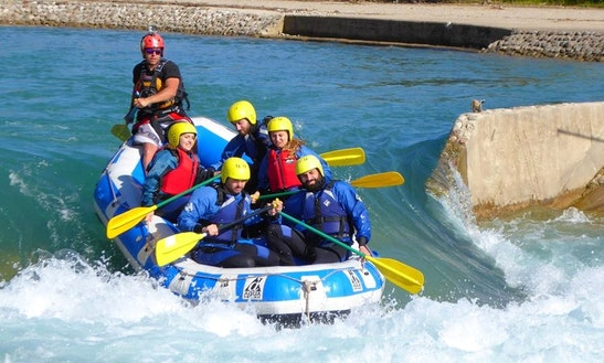Daily Rafting Trips In Etoloakarnania