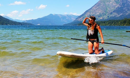 Paddleboard Trip In Gold Bar