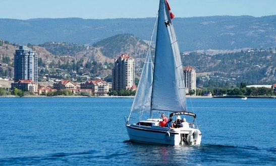 Enjoy Kelowna, Canada On 26' Macgregor Sailboat