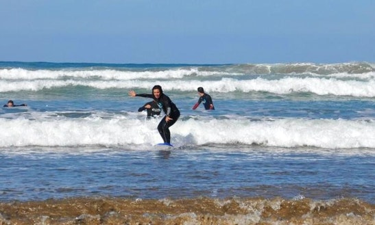Learn To Surf In Caleta De Famara