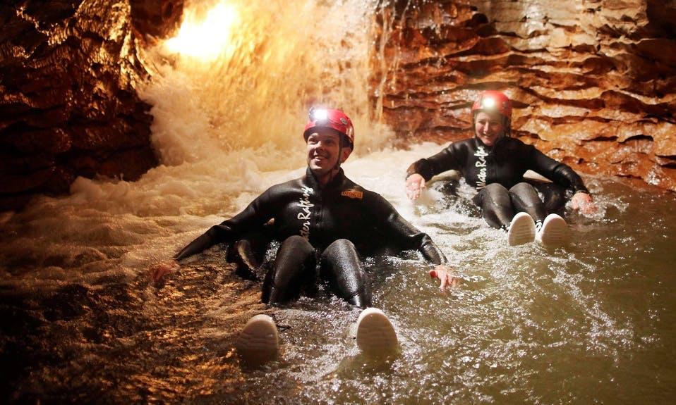 Black Water Tubing In Waitomo