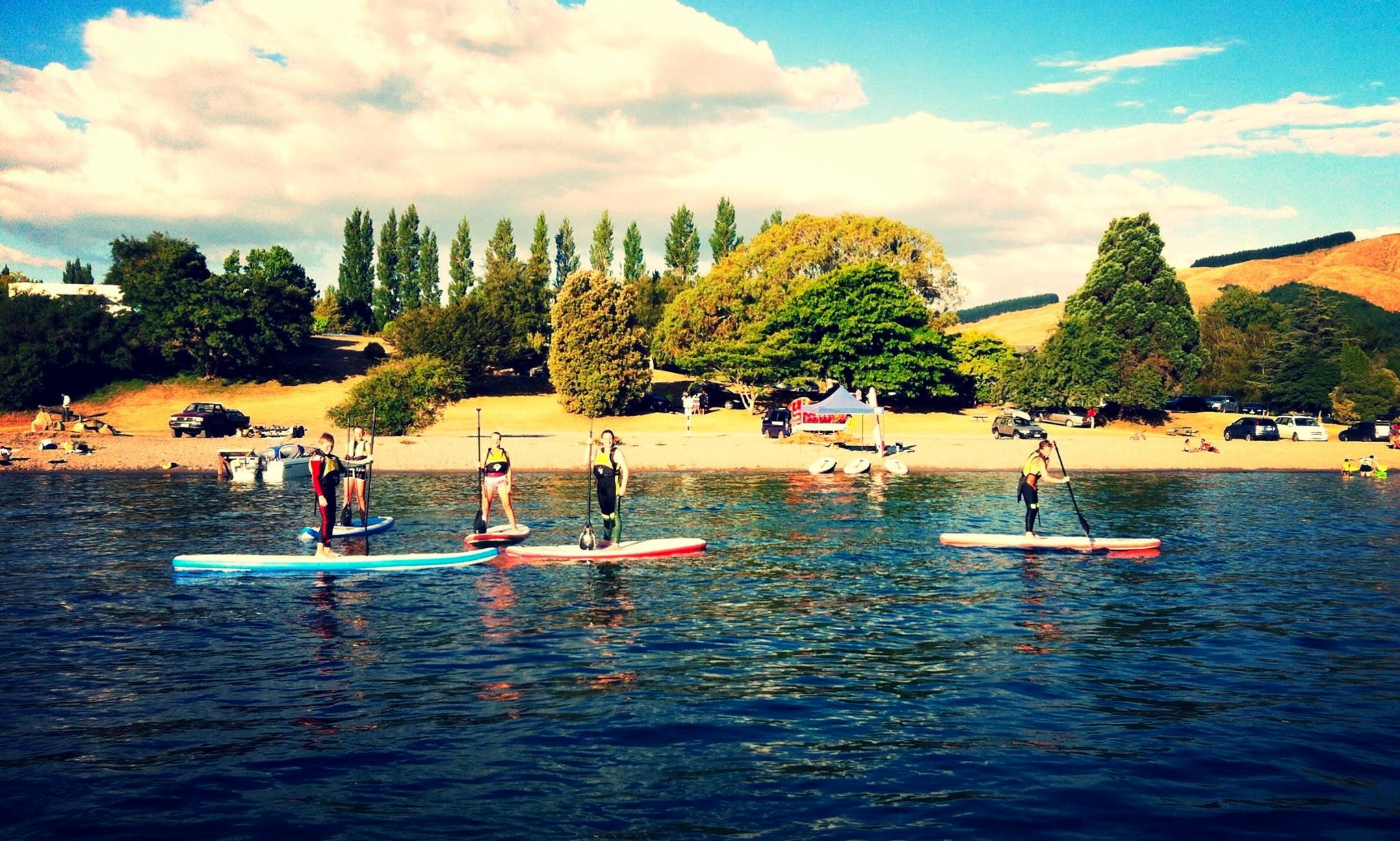 Book SUP Hire in Taupo, New Zealand
