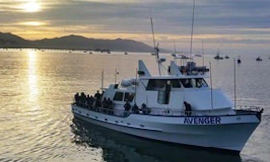 Private Fishing Charter Aboard 65' Trawler Boat In Avila Beach, California