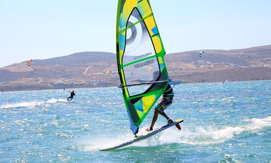 Windsurfing Experience With George In Paros, Greece