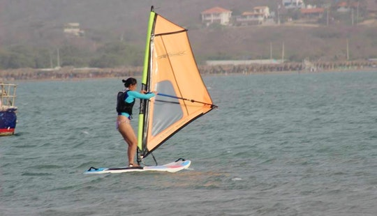 Windsurfing In Barranquilla, Colombia