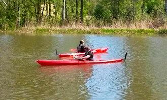 Single Kayak Tour in Hallstahammar