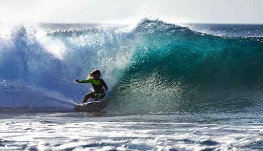 Learn A Basic Surf Course In Las Palmas De Gran Canaria, Spain