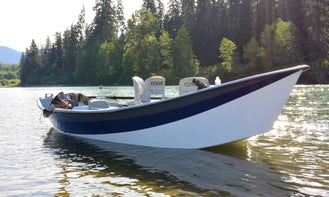 18' Drift Boat Fishing Charter in Kitimat-Stikine C