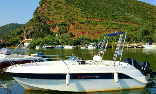 Marinello Deck Boat Rental In Saint-florent, France