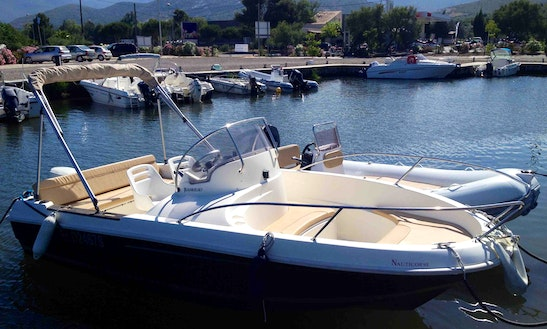 16' Cap Camarat Deck Boat Rental In Saint-florent, France