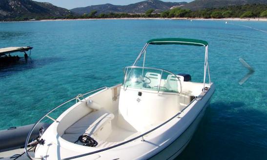 Cap Camarat 625 Deck Boat Rental In Saint-florent, France