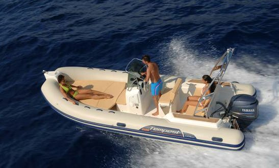 Capelli Tempest 626 Rigid Inflatable Boat For Rent In Saint-florent, France