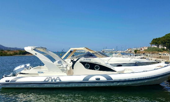 Ride A Bwa 34 Rigid Inflatable Boat And Cruise The Saint-florent Coast