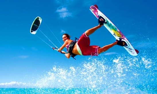 Kitesurfing Lesson In Gallipoli Puglia