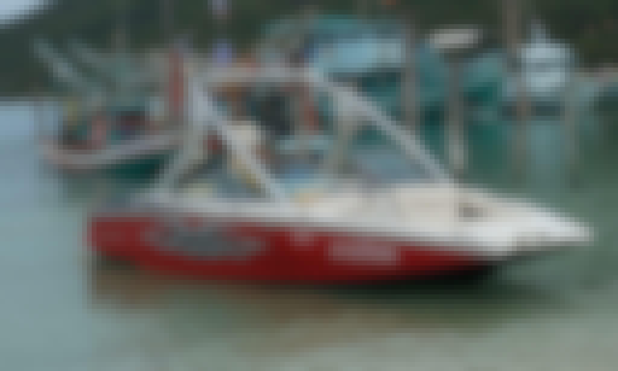 'Mastercraft X-Star' Wakeboarding in Tambon Ko Pha-ngan