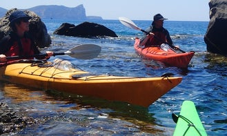 Single Kayak rental in Alghero Sardegna, Italy