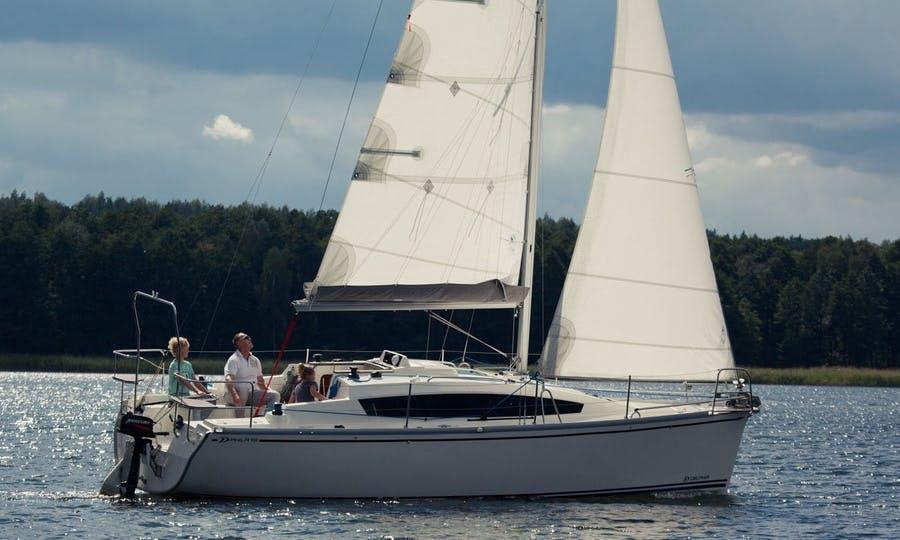 """Phila 900"" Cruising Monohull Charter in Giżycko"