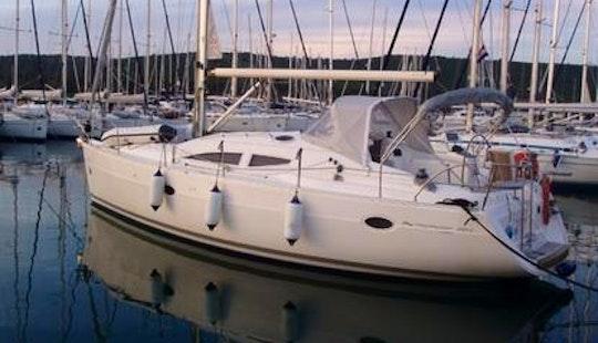 Elan 384 Sailing Yacht Charter In Pula