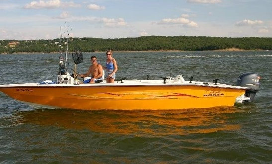 Fishing Adventure And Guide Service On Lake Texoma