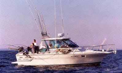 """T-K Charters"" Cuddy Cabin Fishing Charters in Oswego, New York"