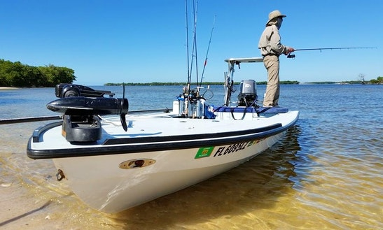 18' Skiff Fishing Charter In Miami