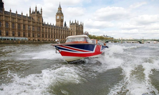 40' Thames Limo Passenger Boat In London, United Kingdom