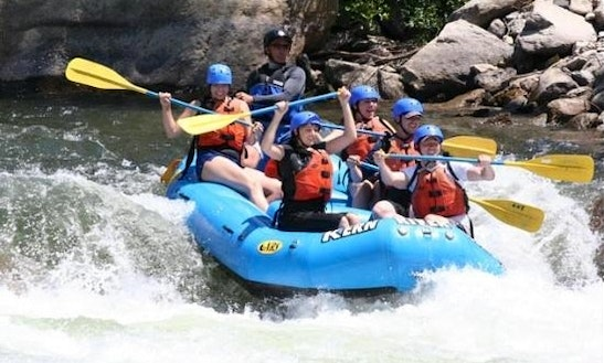 Whitewater Rafting On Kern River