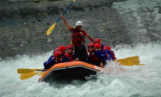 Rafting In San Nazario