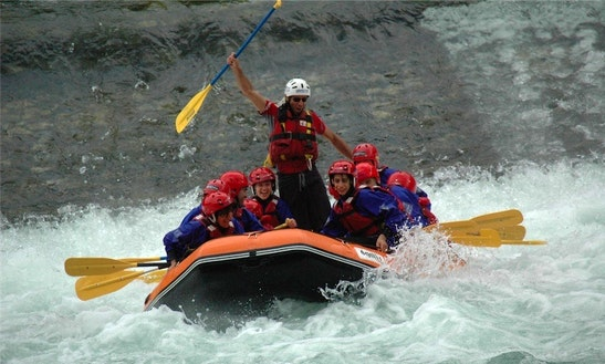 Rafting In San Nazario