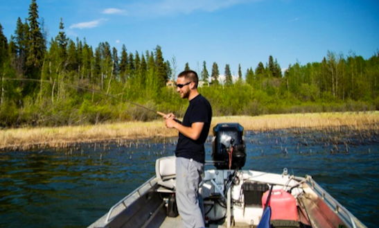 Enjoy Guided Fishing On Bass Boat In Wrangell, Alaska